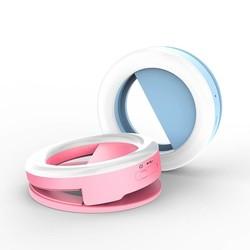 MyXL AINGSLIM Oplaadbare Selfie Ring Licht Draagbare Flash Led Enhancing Fotografie Ring Licht voor iPhone Smartphone Partijen