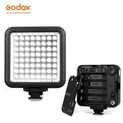 MyXL Godox led64 5500 ~ 6500 k video light professionele universeel voor macrofotografie fotojournalistieke video schieten