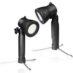 MyXL Fotostudio LED Kleine Licht 3800 K Of 5600 K Desktop Fotografie Schieten Draagbare hand Lamp Wit Geel Licht Geselecteerd