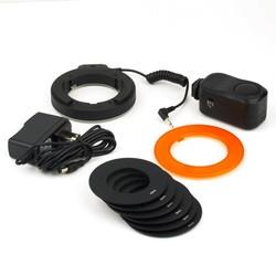 MyXL Professionele Ronde 48 LED Ring Flitslicht Fotografie Voor Canon Nikon Sigma Vedio Camera Lens Drop