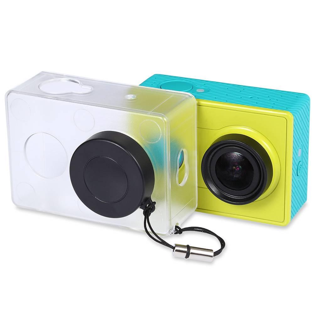 Crazy Koop Beschermhoes Skin Voor Xiaomi YI Action Camera Accesorios Transparante Beschermhoes Met L