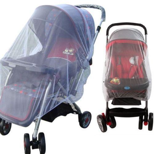 1 Stks Wit Zuigelingen Kinderwagen Wandelwagen Mosquito Insect Net Veilig Mesh Buggy Crib Netting Wi