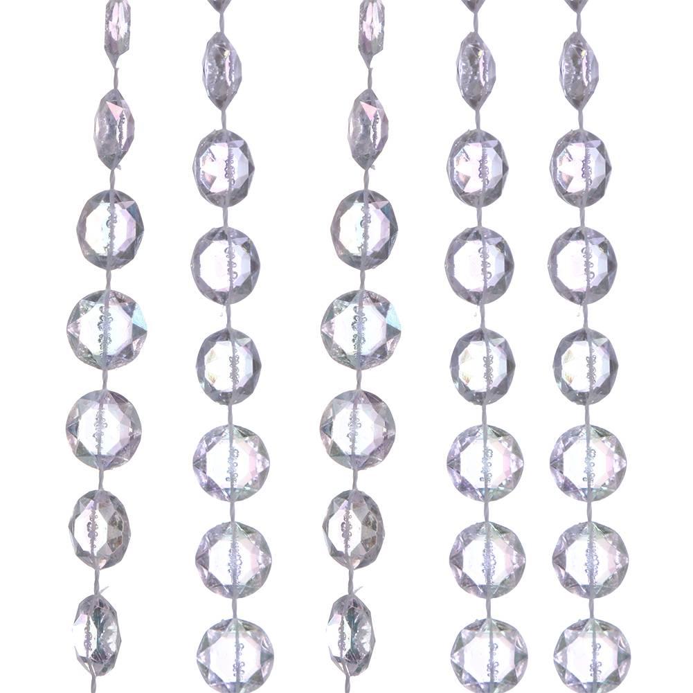 10 M-Roll Acryl Diamond Crystal Bead Gordijnen Bruiloft DIY Partij Decoratie Raam Deur Divider Sheer