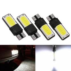 MyXL 10 st Canbus Foutloos T10 LED Interieur Lamp 194 168 W5W Kenteken Backup Licht Rem Auto Wit COB Auto Lampen