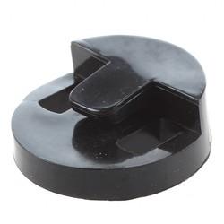 MyXL 5 Pak Ronde rubber silencer black voor cello Instrument