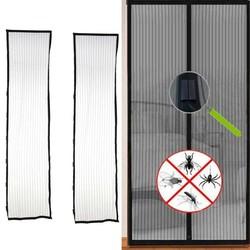 MyXL Anti-muggen Gordijn Magneten Deur Mesh Insect Sandfly Netting met Magneten op De Deur Mesh Screen Magneten