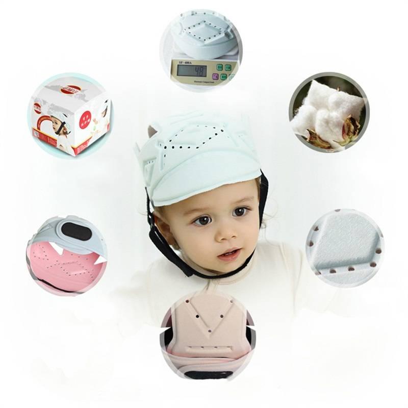 Kinderen Baby Beschermende Helm Bescherming Zachte Bescherming Veiligheid Hoed Peuter voor Walking K