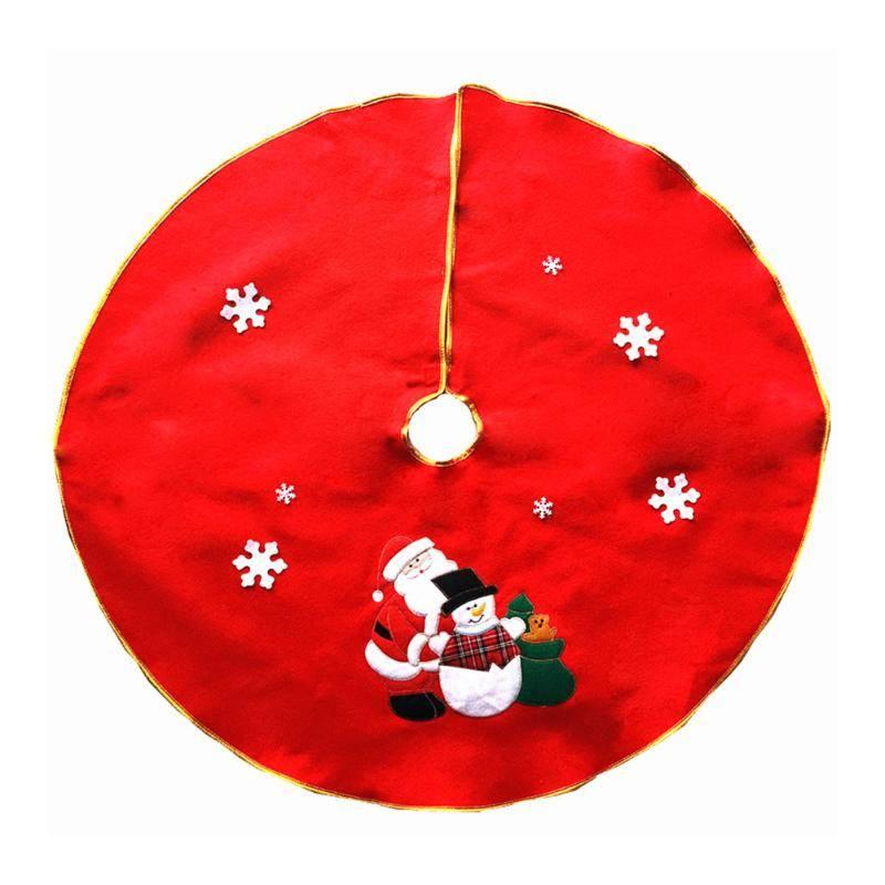 90 cm Kerstman Rok Kerstboom Rokken XMAS Tree Decoratie Vrolijk Kerst Levert Decoratie