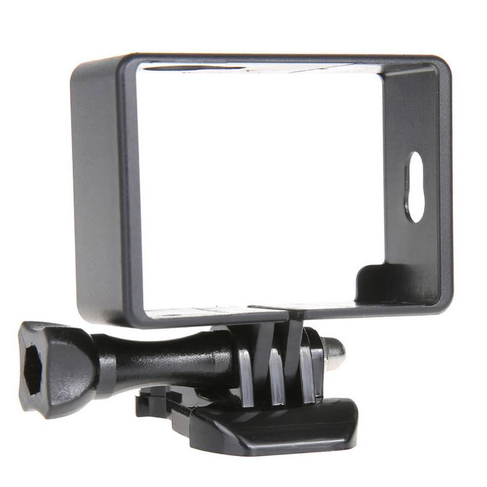 Zwart hard camera case frame cover voor xiaomi yi standaard beschermhoes voor xiaomi yi action camer