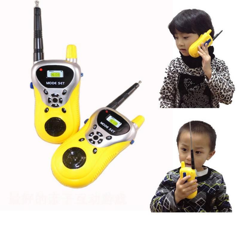 BOHS Speelgoed Walkie Talkie Ouderschap Game Mobiele Telefoon Telefoon Praten Kind Kids Geel Speelgo