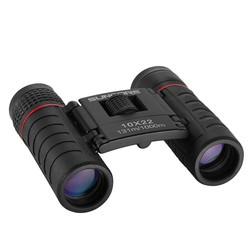 MyXL Verrekijker Telescoop Mini Pocket Folding 10X22 Outdoor Hoge Powered Verrekijker Telescoop Vogels Kijken Wildlife Jacht