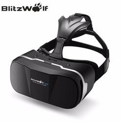 MyXL Originele BW-VR3 3D VR Virtual Reality Bril Headset HeadMount Voor iPhone 7 6 Voor Samsung 3.5-6.3 inch Smartphone <br />  BlitzWolf