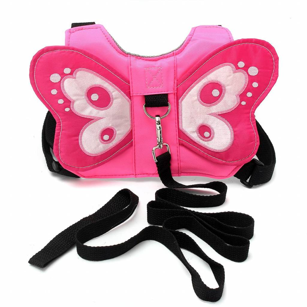 Peuter Baby Kids Anti-verloren Vlinder Walking Riem Veiligheid Harness Leash Strap Rugzak   Safuranc