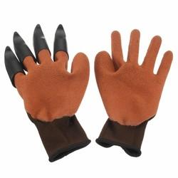 MyXL Tuin Handschoenen voor Graven &amp; Planten met 4 ABS Plastic Klauwen Duurzaam Waterdicht Veiligheid Handschoen <br />  Safurance