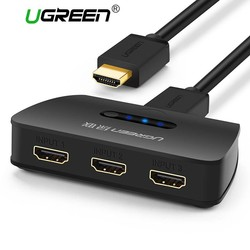 MyXL 3 Port HDMI Switch Switcher HDMI Splitter Poort voor XBOX 360 PS3 PS4 Smart Android HD 1080 P 3 Input 1 Output <br />  Ugreen