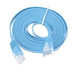 MyXL Hoge Snelheid 30 M Cat6 Platte Kabel RJ45 Computer LAN Internet Netwerk Cord 30 M/98.42ft<br />  ELE ELEOPTION