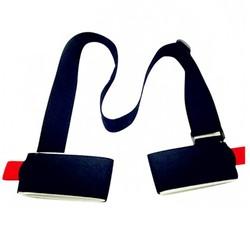MyXL 121704 Verstelbare Ski snowboard gemakkelijk rugzak cross country Ski Pole Schouder Hand Carrier Lash Handvat Dual Board Strap bag <br />  MyXL