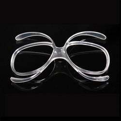 MyXL Professionele Skibril Bijziendheid Frame Adapter Skiën Bril Ingebed Zonnebril Adapter Bijziendheid Inline Frame TR90 <br />  Benice