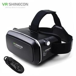 MyXL Vr  virtual reality 3d movie smartphone game 3d bril helm 3 d vr kartonnen 4.7-6 &quot;Smart Phone + Bluetooth Controller <br />  shinecon