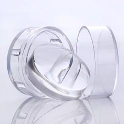 MyXL GEBOREN PRETTY 4 cm XL Clear Jelly Siliconen Nail Stempelen Stamper korte Handvat met Cap Manicure Nail Art Stamper en Schraper gereedschap <br />  Born Pretty