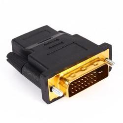 MyXL Audio Kabels Vergulde DVI 24 1 naar HDMI Converteren vrouwelijke om mannelijke Adapter Converter voor HDTV PC PS3 Projector TV Box <br />  VBESTLIFE