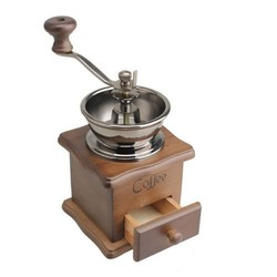 MyXL Mini Houten Koffieboon Spice Vintage Stijl handslijpmachine <br />  SAFEBET