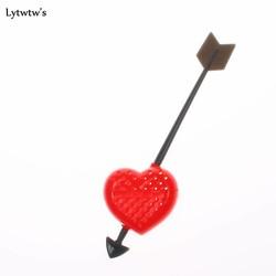 MyXL 1 StukKoopHart Liefde Theezakjes Theepot Theelepel Filter Infuser Plastic Filtratie Liefhebbers Valentijnsdag<br />  Lytwtw&#039;s