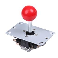 MyXL Top Klassieke 4/8 manier Arcade Game Joystick Bal Vreugde Stok rode Bal Vervanging Toepassingen Voor 4 microschakelaars detecteren op/off positie <br />  VODOOL