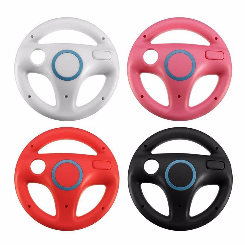 Plastic Stuurwiel Voor Nintendo voor Wii Mario Kart Racing Games Remote Controller Console   ShirLin