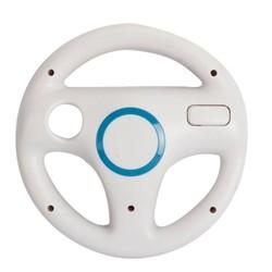 MyXL Wit Plastic Stuurwiel Voor Nintendo voor Wii Mario Kart Racing Games Remote Controller Console<br />  ShirLin