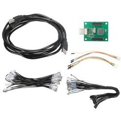 MyXL DIY 2 Spelers Arcade om USB Controller Adapter Joystick Connector Kabel Bedrading Kit Voor MAME Toetsenbord Encoder Board <br />  MyXL