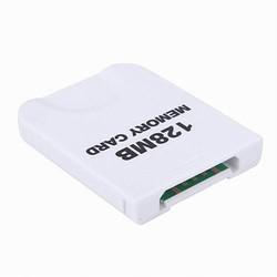 MyXL 128 MB Wit Geheugenkaart compatibel voor Wii &amp; Gamecube Console <br />  BiNFUL