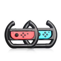 MyXL 1 set = 2 stks ABS Links en Rechts Vreugde-Con Controller Stuurwiel Voor Nintendo Vreugde-Con NS Controller Richting Manipuleren Wiel <br />  Palissi
