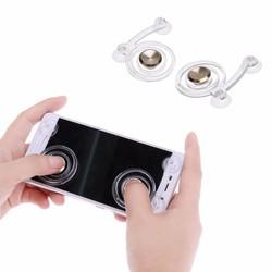 MyXL 2 stks/pakType Smartphone Game Touchscreen Joysticks Mobiele Telefoon Mini Game Joystick voor Telefoon Tablet Arcade Games (Gold) <br />  VODOOL