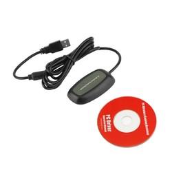 MyXL Wireless PC USB 2.0 Ontvanger voor Xbox 360 Controller Gaming USB ontvanger Adapter PC Ontvanger Voor Microsoft voor XBOX 360 met CD <br />  Vention
