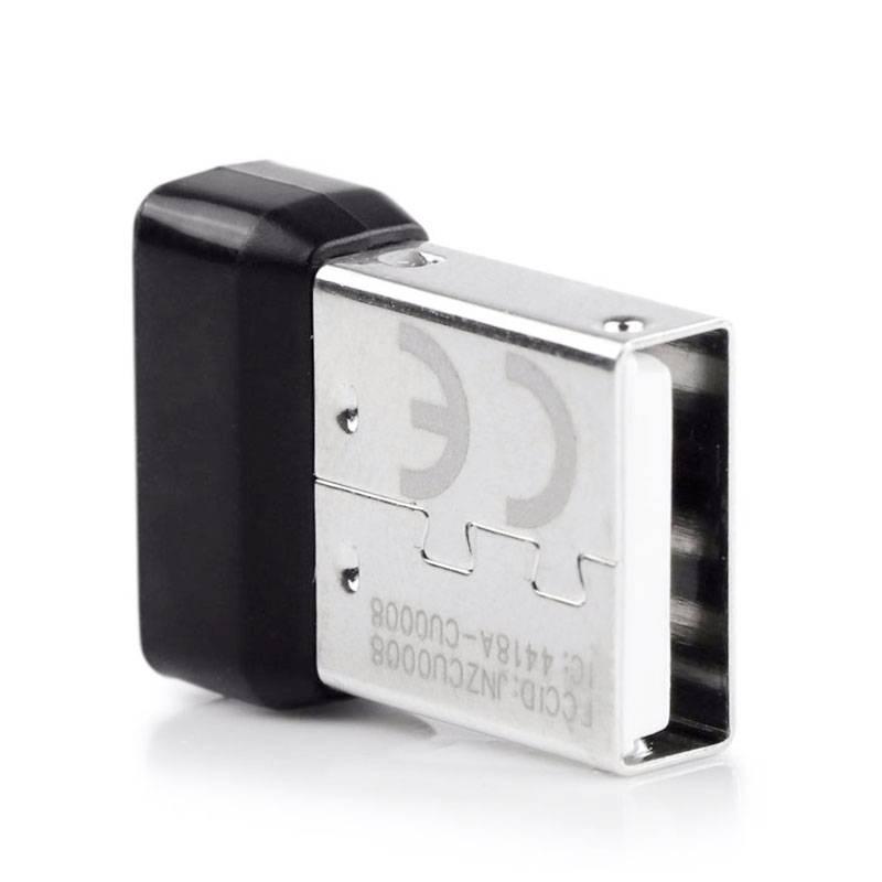 Fornorm 6 Kanaals Unifying Draadloze Dongle USB Ontvanger Dongle Voor Logitech Draadloze Muis Toetse