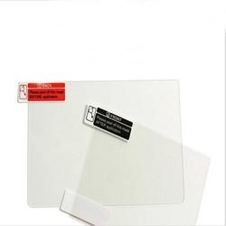MyXL Top Gehard Glas LCD Screen Protector + Bodem HUISDIER Clear Volledige Cover Beschermfolie Guard voor Nintendo3DS XL/LL 3 DSXL/3 DSLL <br />  KomoKe