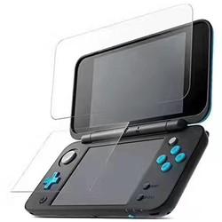 MyXL Voor Nintendo2DS XL/LL 2 DSXL 2 DSLL Console Beschermfolie Guard Premium HD Top &amp; Bottom gehard Glas Screen Protector  <br />  MyXL
