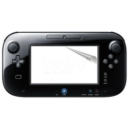 MyXL 2 stks Anti-Glare Clear LCD Screen Protector Film Skin Clear Cover voor Nintend Wii U Console Gamepad <br />  TECTINTER