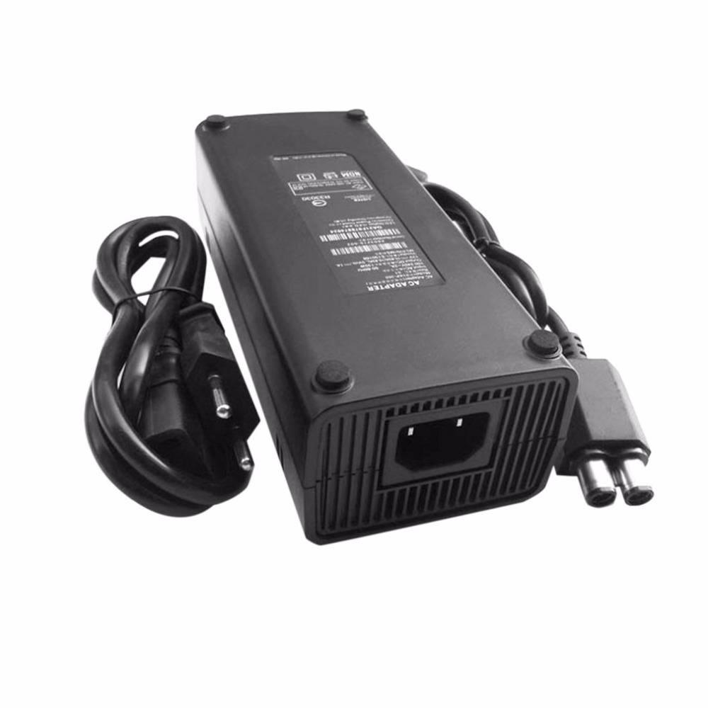 EU Plug AC 100 v ~ 240 v Adapter Netsnoer voor XBOX 360 AC Adapter Oplader LED Indicator Vervanging