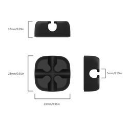 MyXL CMS 10 stks Zachte Siliconen Kabelhaspel Desktop Draad Organisator Oortelefoon Kabel Houder Clip Muis Cord Protector Management <br />  NTONPOWER