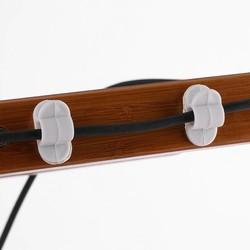 MyXL 10 stks Kabelhaspel Oortelefoon Organizer Desktop Draad Opslag Lader Kabel Cord Houder Clips Voor Telefoon Opladen USB Kabels <br />  VBESTLIFE