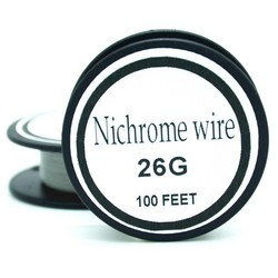 MyXL Nichrome draad 26 gauge 100 ft 0.4mm cantal weerstand weerstand awg diy verneveling core <br />  Ayunhao