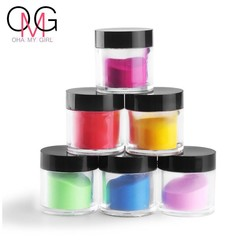 MyXL Grote Fles 5-8g 18 Stks Mix Kleuren Acryl Poeder Stof Decoratie Set voor Valse Tips Manicure Nail Art Acryl Poeder Voor Nail <br />  COSCELIA