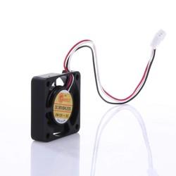 MyXL 2 Stks 4 cm Mini DC Borstelloze Chassis Videokaart 2pin CPU Koelventilator 40mm x 40mm x 10mm L3FE <br />  VODOOL