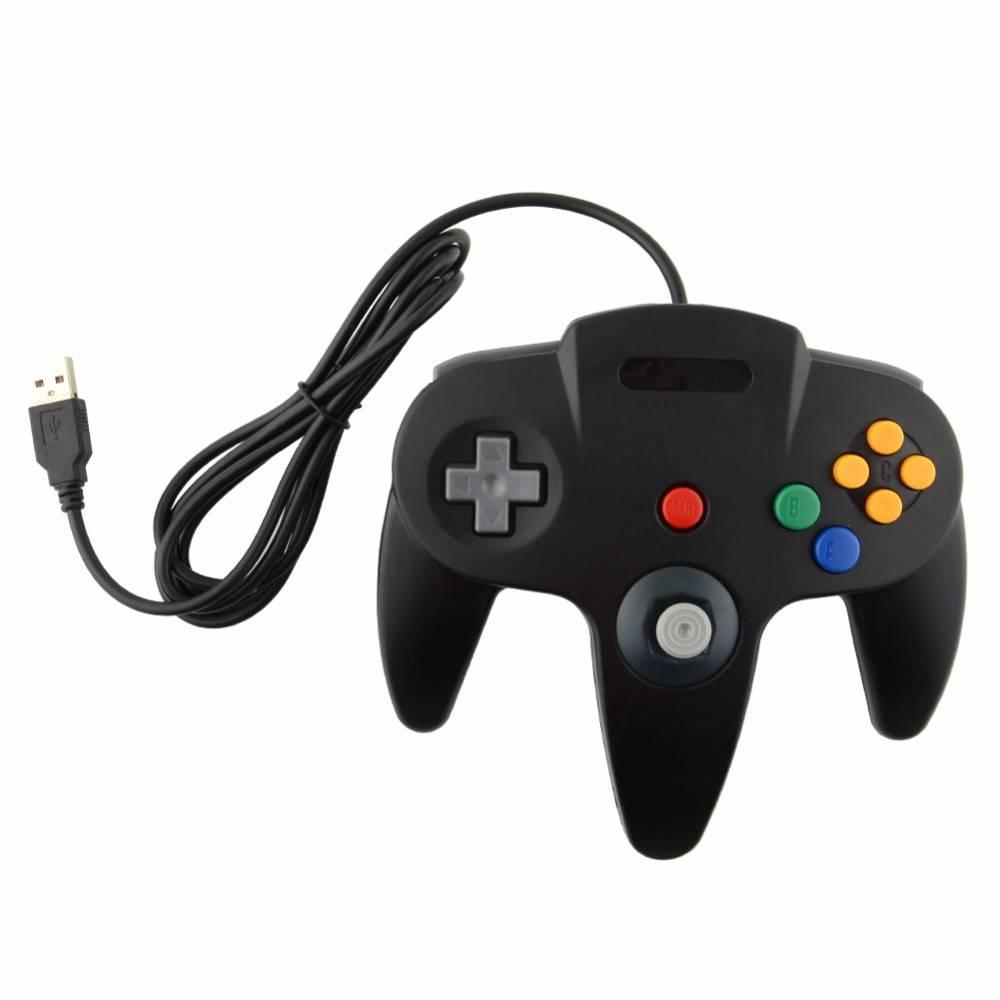 Wired USB Game Controller Gaming Joypad Joystick USB Gamepad Voor Nintendo Gamecube Voor N64 64 ST V