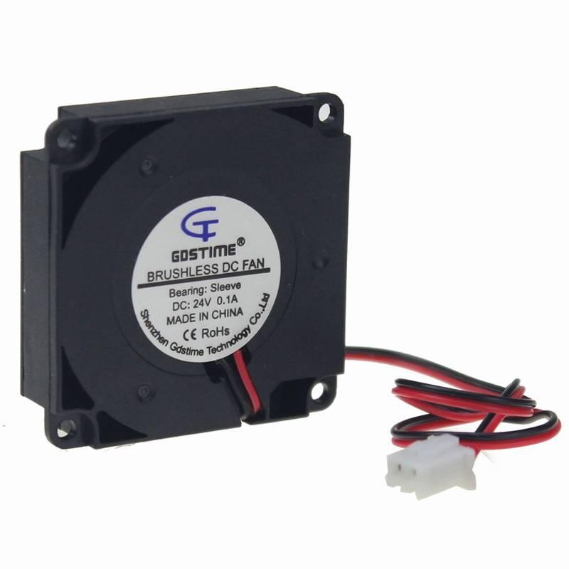 2 STKS Gdstime Voor 3D Printer Onderdelen 40mm x 40mm x 10mm 4 cm 24 V 4010 40mm DC Cooling Turbo Ve