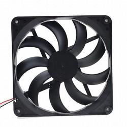 MyXL 2 stks Gdstime 2Pin 14 CM 140 MM 5.5 inch 12 V Borstelloze DC Fan Voor Computer PC Case Cooler Cooling <br />  gdstime