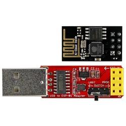 MyXL ESP-01 ESP8266 Wi-Fi Transceiver Module + USB naar ESP-01 CH340G Adatper AA3471 <br />  MLLSE