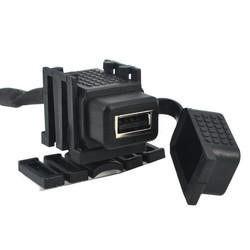 MyXL Kebidu Duurzaam 12 V 2.1 Een USB Auto Motorfiets Socket Splitter Adapter waterdichte Mobiele Telefoon Oplader Voor iphone GPS <br />  kebidu
